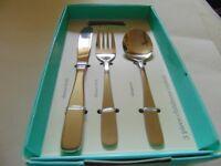 waitrose 3 piece childrens cutlery set