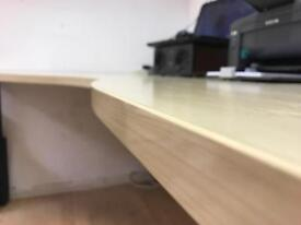 Three matching office desks for £60 each