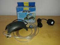 Tetra air pump for aquarium, hardly used.