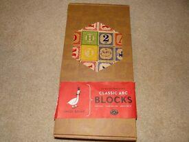Classic ABC wooden blocks - Uncle Goose