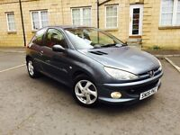 PEUGEOT 206 1.4 SPORT 16V 2006 ONLY 69000 MILES 1 YEARS MOT AND FULL SERVICE HISTORY MINT CONDITION