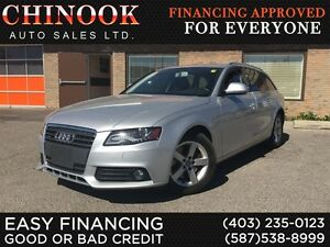 2009 Audi A4 2.0T Avant AWD, Leather, Sunroof, No Accidents