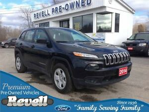 2014 Jeep Cherokee Sport 4WD... Economical, Fresh styling, Power