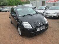 CITROEN C2 2007 1.1 LTR PETROL 64000 MILES 1 YEAR MOT VERY CLEAN GREAT 1ST CAR!!!