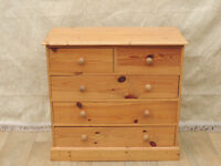 Chest of Drawers Welsh pine compact (Delivery possible)