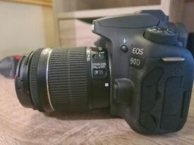 Canon EOS 90D + 18-55mm 3.5-5.6 IS STM lens