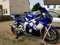 2002 R6 low miles swop 4 1250 bandit
