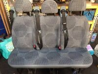 Ford transit rear seats with belts bargain £120