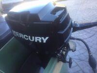 Mercury 9.8 hp outboard