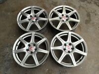 HONDA CIVIC TYPE R FN2 (2006 - 2010) GENUINE ALLOYS 18 INCH 5 STUD