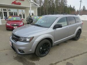 2015 Dodge Journey BLACKTOP EDITION, DVD PLAYER, LOCAL TRADE!!