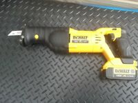 DEWALT DCS 380 18V XR LI-ION RECIPROCATING SAW