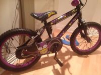 16'' The Simpsons Bartman kids Purple Bike