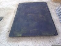 3 rubber stable mats (used)