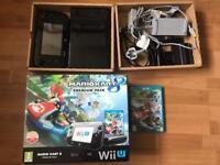 Nintendo Wii u boxed 32gb premium console & Mariokart 8