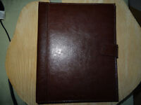 Jasper Conran brown leather tablet holder