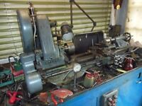 Myford ML7 Lathe 1959 serial No' Some wear on bed. Independent valuation £500 inc. accessories