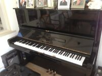 YAMAHA U3 UPRIGHT PIANO IN BLACK