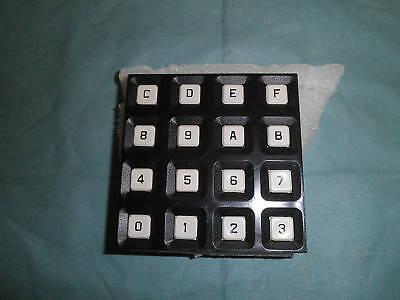 Grayhill Model: 84BA1-003 Keypad, 12 Alphanumeric Keys.  Unused Old Stock<