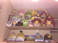 Angry Bird Plush Collection full set - All New - open to offers