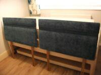 Single (3ft) Divan Bed Headboards x 2