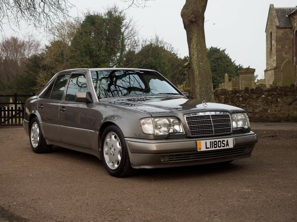 mercedes w124 e500 mercedes porsche collaboration model very rare in east linton east. Black Bedroom Furniture Sets. Home Design Ideas