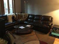 Large 2 bedroom lower duplex for rent in NDG