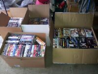 340 VHS Video tapes