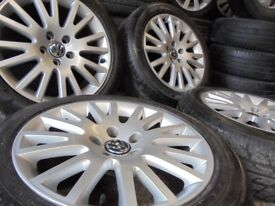17inch GENUINE vw bbs ALLOYS WHEELS 5x112 audi golf a3 caddy mk6 7 seat r32 s3 s line edition 30 ch