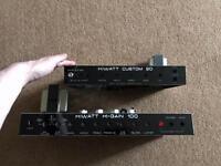 Hi-watt custom 20 and hi-watt hi-gain 100 - amps parts