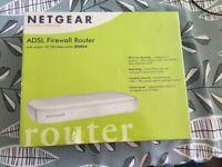 NETGEAR ADSL Firewall Router Brand New