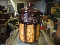 VINTAGE RUMTOPF / RUMPOT MADE INWEST GERMANY BY SCHEURICH-KERAMIK IN GOOD CONDITION READY TO USE £8