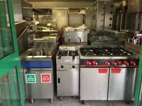 VALENTINE TWIN TANK FRYER CATERING COMMERCIAL KITCHEN CAFE KEBAB FISH PIZZA RESTAURANT SHOP SHOP
