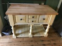 Beautiful solid butchers block