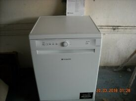 HOTPOINT FULL SIZE DISHWASHER LITTLE USED AS NEW