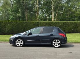 PEUGEOT 308 ALLURE ,URGENT SALE,FULL SERVICE HISTORY,PERFECT CONDITION