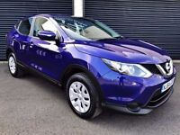 2014 NISSAN QASHQAI VISIA 1.5 DCI *NEW SHAPE* 1 OWNER FROM NEW 2 KEYS FSH