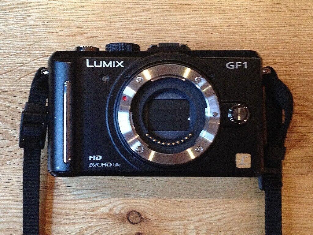 Panasonic Lumix DMC-GF1 (BODY) for Repair or Parts