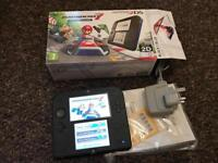 Almost new Nintendo 2ds with Mario kart