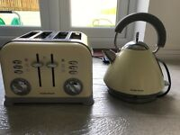 Kettle and matching toaster