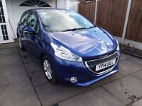 ***2014 14REG PEUGEOT 208 HATCHBACK 1.4 HDi FAP ACTIVE 5DR £0 TAX BAND LOW MILES 34,628**