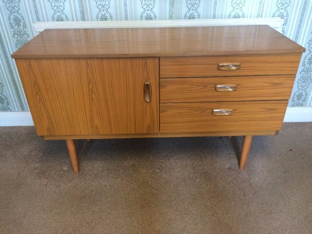 vintage 70s furniture. Vintage 70\u0027s Schreiber Teak Veneer Sideboard Unit Mid Century Retro Cabinet 70s Furniture