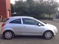 VAUXHALL CORSA 1.2 CLUB,HPI CLEAR,2 OWNERS,1 YEAR M.O.T,2 REMOTE KEYS,A/C,AUX,4 NEW TYRES,