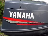 Yamaha 2 stroke 40 hp outboard long shaft ,power trim and tilt .