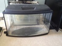 Fish tank with lid (90 litres)