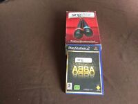 PS2 Singstar with microphones