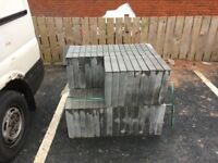 Grey Concrete Paving slabs BARGAIN! 8.5sqm