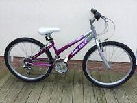 Girls Raleigh krush bike.