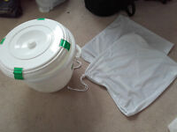 Reusable Nappies & Inserts & Liners and Bucket - £100