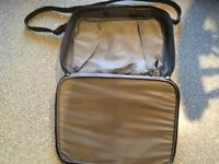 SAMSONITE black travel case. IMMACULATE CLEAN CONDITION. About 18.5 X 14.5 inches. Only used once.